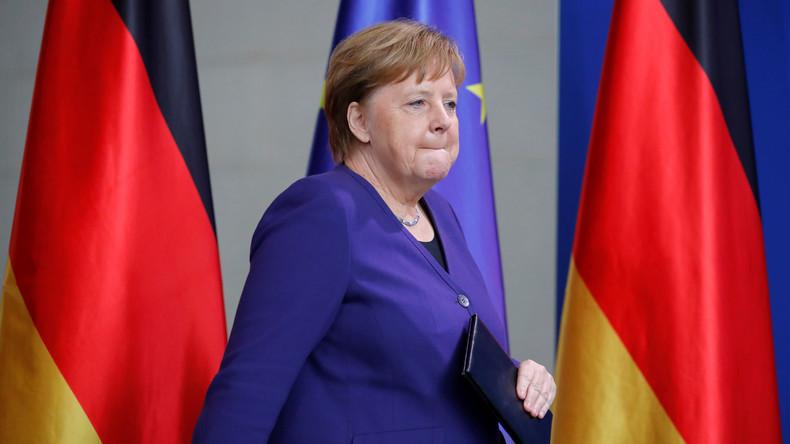 Angela Merkel verspricht: Werde mich nicht in Prozess um CDU-Vorsitz einmischen