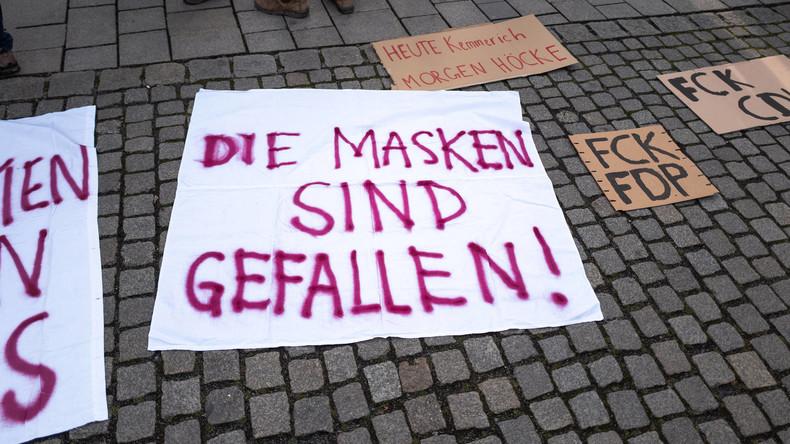 Das Beben von Thüringen und der Offenbarungseid der zentralpopulistischen Querfront