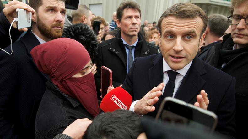"""""""Können keine türkischen Gesetze in Frankreich haben"""" – Macron beklagt """"islamischen Separatismus"""""""