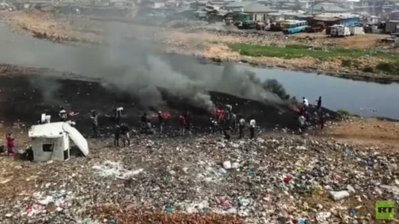 Ghana: Elektroschrottplatz der Welt mit verheerenden Folgen (Video)