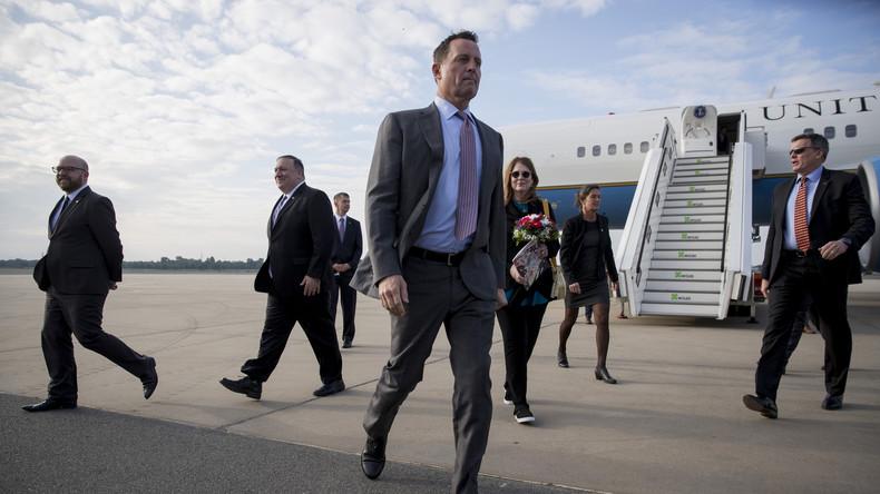 US-Botschafter in Berlin wird neuer Geheimdienstkoordinator des US-Präsidenten