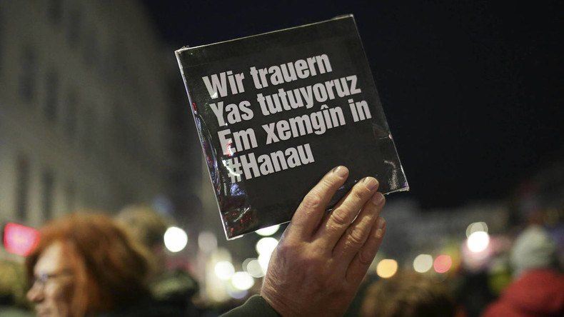 Merkel: Hanau-Tatverdächtiger hatte wahrscheinlich rechtsextreme und rassistische Motive