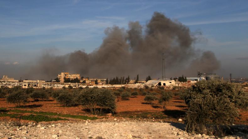 """Sprecher der US-geführten Anti-IS-Koalition: Idlib ist ein """"Magnet"""" für Terrorgruppen"""