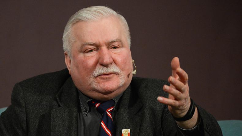 Polens Ex-Präsident Wałęsa kritisiert polnische Forderung nach Reparationszahlungen von Russland