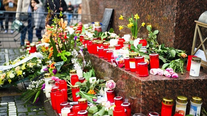 LIVE: Trauermarsch im Gedenken an die Opfer in Hanau