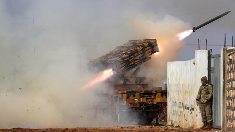 Merkel, Macron und Erdoğan einig: Idlib-Offensive der syrischen Armee muss sofort gestoppt werden