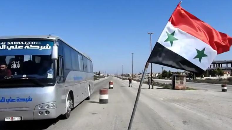 Autobahn M5 Damaskus-Aleppofür die Öffentlichkeit wieder frei – Kämpfe gehen andernorts weiter