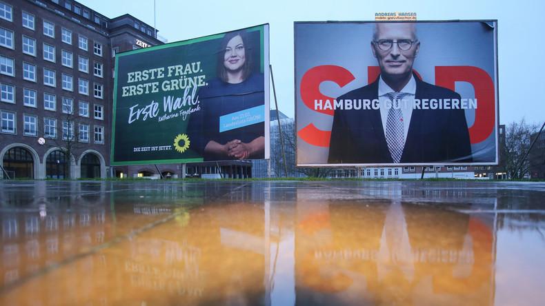 Bürgerschaftswahl in Hamburg: Höhere Wahlbeteiligung zeichnet sich ab – Umfragen sehen SPD vorn