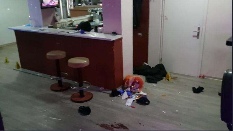 Video der Arena-Bar in Hanau kurz nach Schießerei von innen