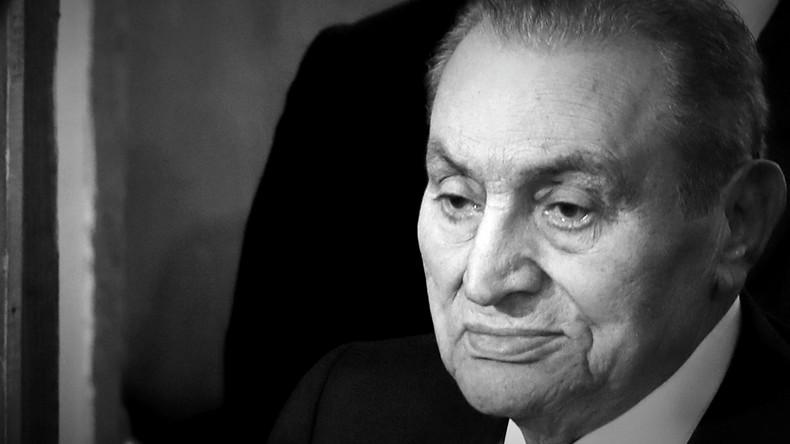 Ehemaliger ägyptischer Staatschef Hosni Mubarak gestorben