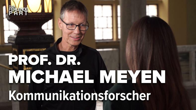 """""""Politiker kontrollieren Journalisten"""" – Prof. Dr. Michael Meyen im Gespräch"""