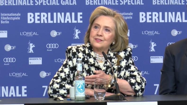 """Hillary Clinton: """"Putin wusste genau, wer ich bin, und wollte mich deshalb besiegen"""""""