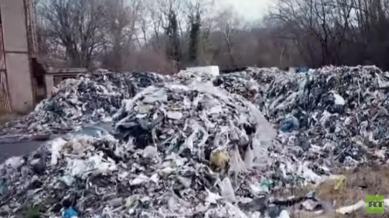 Illegale Müllentsorgung dank offener Grenzen in Europa (Video)