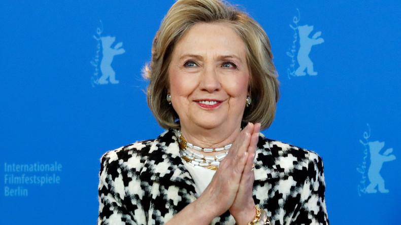 """Hillary Clinton auf der Berlinale: """"Merkel ist eine einzigartige Führungskraft"""""""
