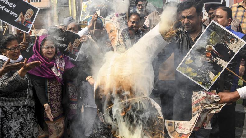 Ausschreitungen wegen umstrittenen Einbürgerungsgesetzes in Neu-Delhi – über 20 Tote