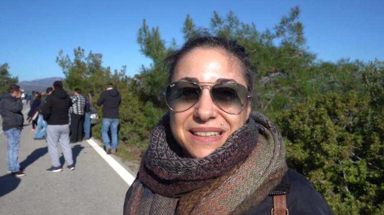 """Lesbos nach Gewalt bei Protesten gegen neues Migrantenlager: """"Das ist schon fast wie im Krieg hier"""""""