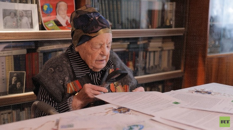 #PostDesSieges: Russische Veteranen lesen Wolf von Fichtenbergs Freundschaftsbrief
