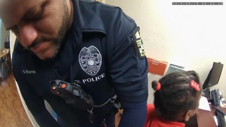 Florida: Polizisten nehmen Sechsjährige mit Kabelbindern fest