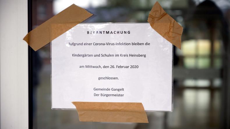 Deutschland: Regierung bereitet sich auf starke Zunahme von Infektionen vor