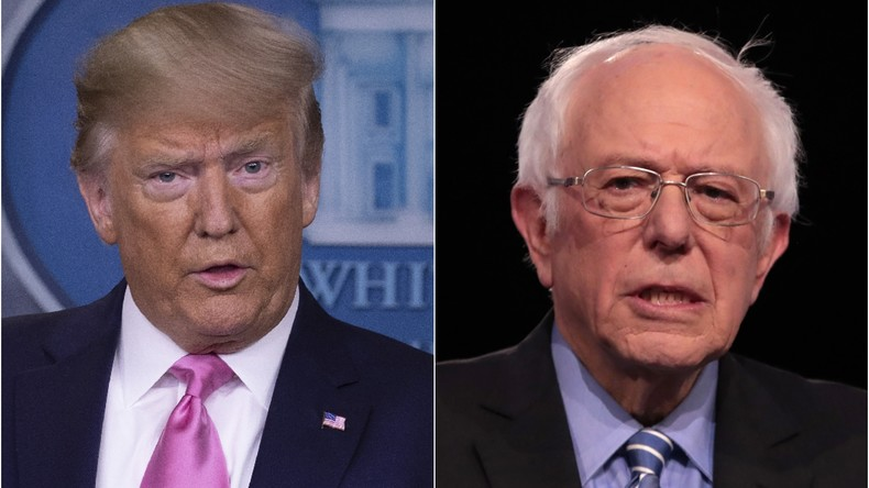 """Kandidatenauswahl der US-Demokraten: Das Rennen der """"russischen Agenten"""" (Video)"""