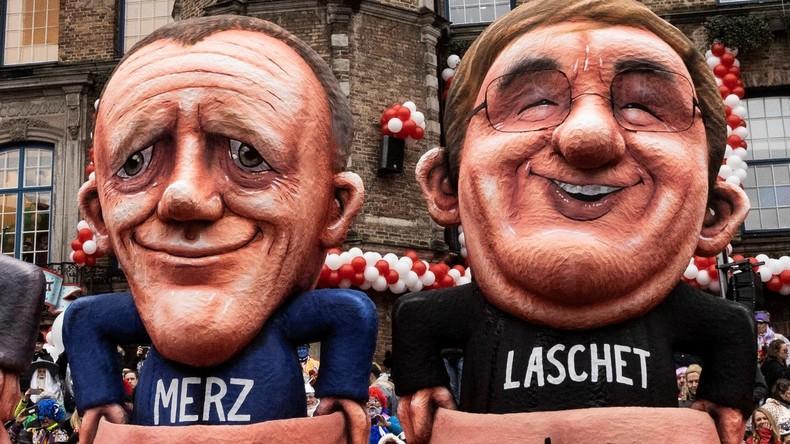 """""""Putin-Versteher"""" oder """"treuer Transatlantiker"""": Wie stehen Laschet und Merz zu Russland?"""