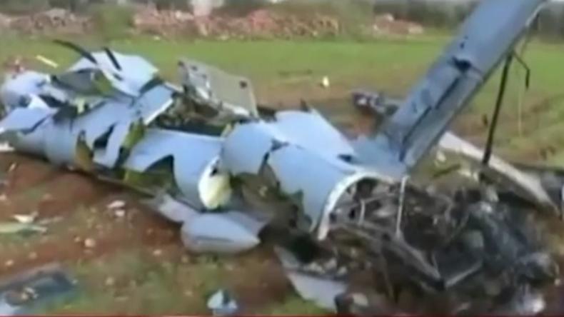 Syrische Soldaten haben offenbar türkische Drohne abgeschossen