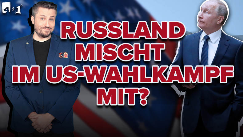 ARD Parallelwelt bei Hamburgwahl | US-Wahlen: Russen mischen überall mit! | 451 Grad