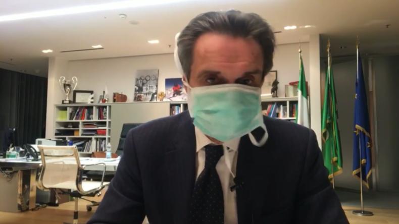 Italien: Gouverneur der Lombardei isoliert sich selbst nach positivem Corona-Test bei Mitarbeiterin