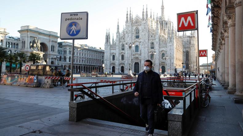 Geschäfte mit der Angst: Mundschutz für 5.000 Euro in Italien