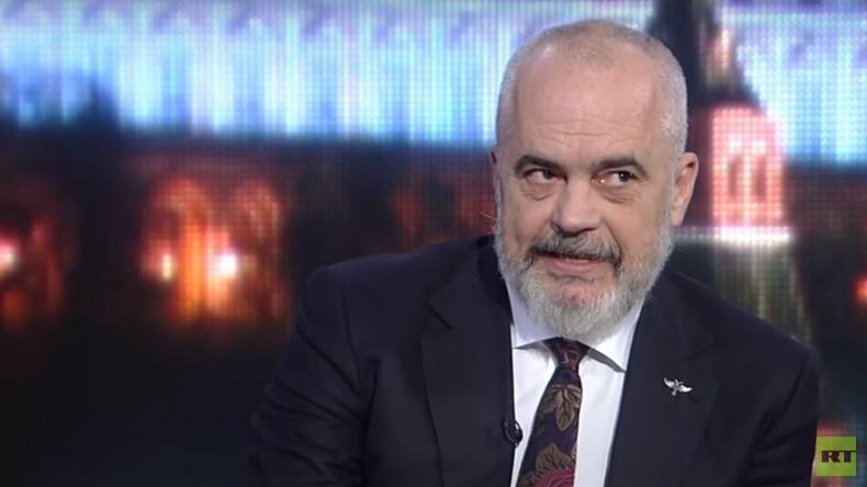 """OSZE-Vorsitzender Edi Rama über Minsker Abkommen: """"Verträge sind einzuhalten"""" (Interview)"""