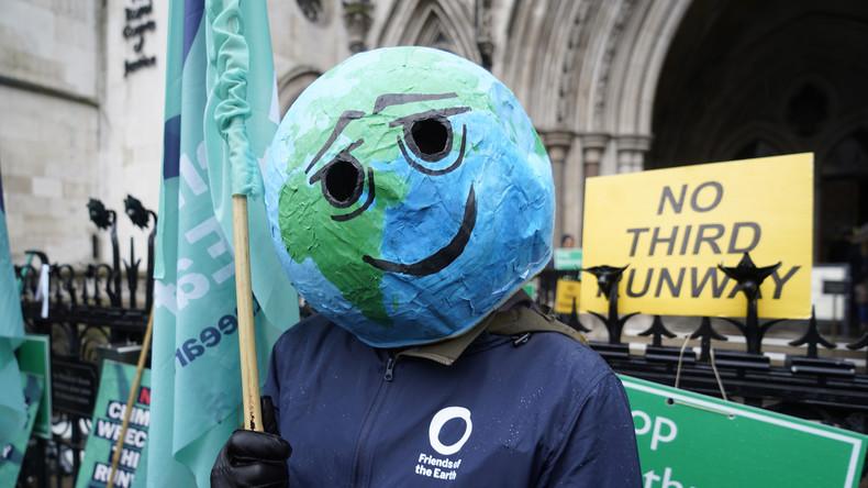 Unvereinbar mit Klimazielen: Öko-Aktivisten erwirken Verbot für Ausbau von Flughafen Heathrow