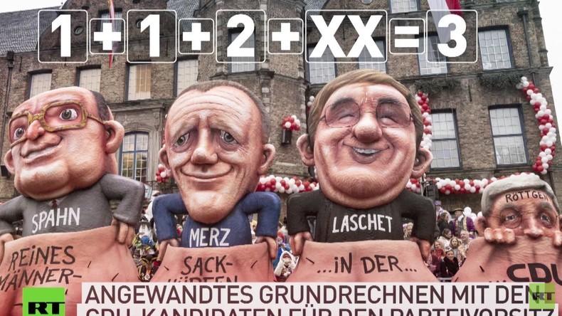 1+1+2+XX = 3, oder Männer-Sackhüpfen um den CDU-Parteivorsitz – eine Kurzvorstellung