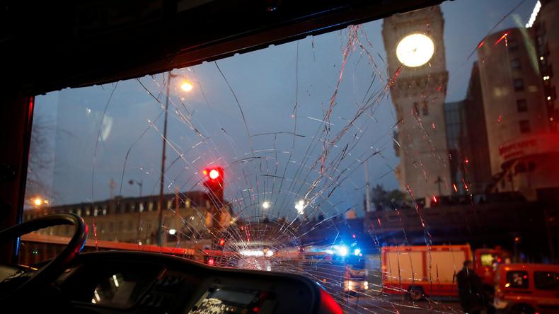LIVE: Großbrand am Pariser Bahnhof Gare de Lyon