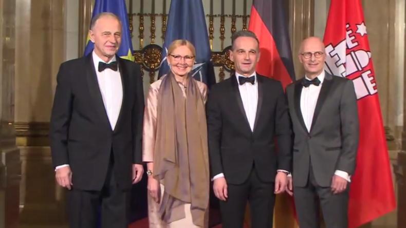 Außenminister Maas Gastgeber des stellvertretenden NATO-Chefs bei Festessen in Hamburg