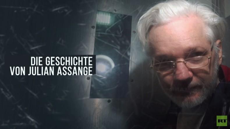 RT-Doku: Die Geschichte von Julian Assange