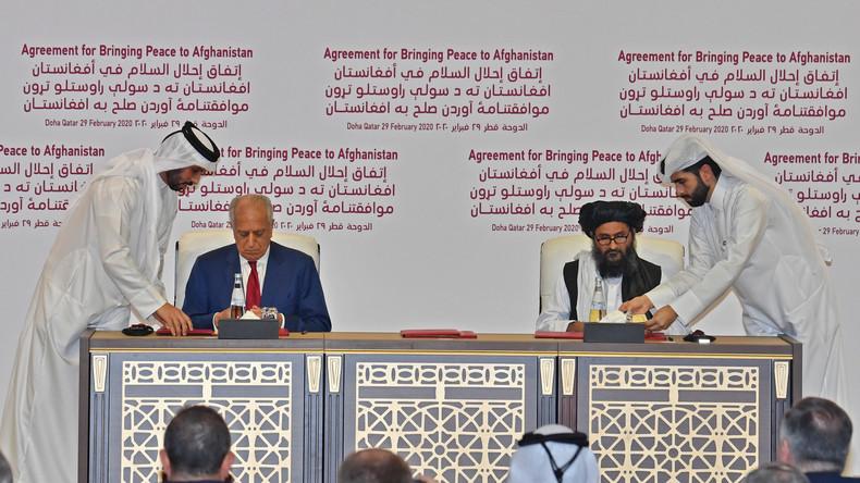 Schritt zum vollständigen Truppenabzug: Taliban und USA unterzeichnen Abkommen