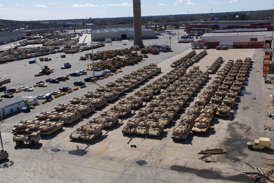 Die Amis kommen – Verlegung von Division aus Übersee für US Defender Europe 2020 in vollem Gange