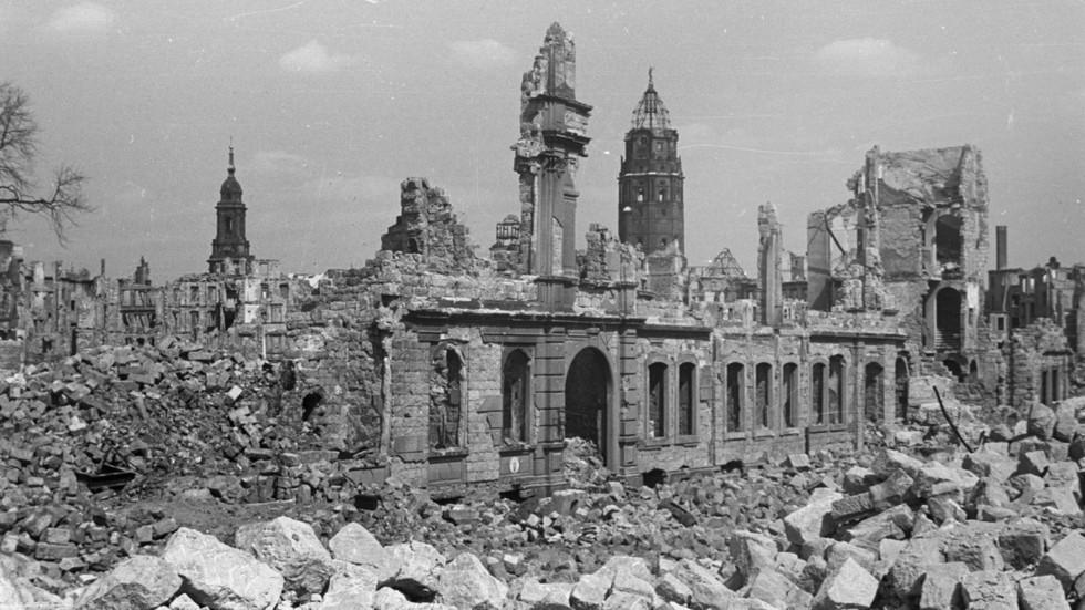 Die Lektion von Dresden ist auch 75 Jahre später die gleiche: Die Macht hat immer recht