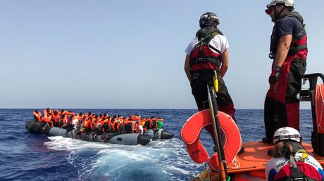 EU warnt vor einer neuen Flüchtlingswelle aus Libyen, die über das Meer kommen könnte (Bild vom 09.08.19).