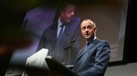 Will er wieder zurück auf die große politische Bühne? Friedrich Merz beim Ludwig-Erhard-Gipfel im bayerischen Weissach am 17. Januar 2020