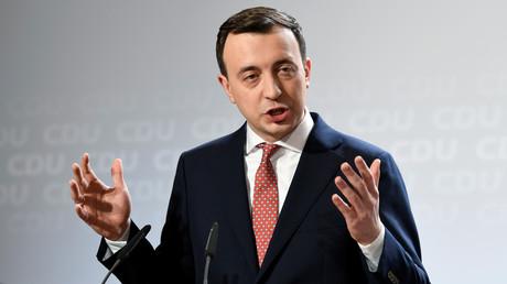(Archivbild). CDU-Generalsekretär Paul Ziemiak während einer CDU-Vorstandssitzung am 17. Januar 2020 in Hamburg.