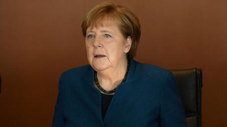 (Archivbild). Bundeskanzlerin Angela Merkel am 5. Februar 2020 während der wöchentlichen Kabinettssitzung im Kanzleramt in Berlin.