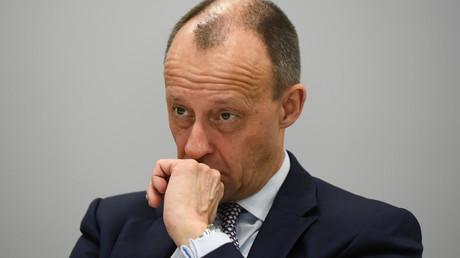 (Archivbild). Der CDU-Politiker Friedrich Merz während eines Interviews mit Reuters am 14. Januar 2020 in Berlin.