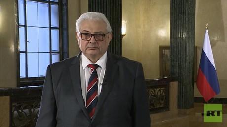 Sergei Netschajew, Russlands Botschafter in Deutschland