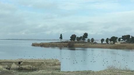Euphrat-Qere-Qozaq-Blick nach Norden.