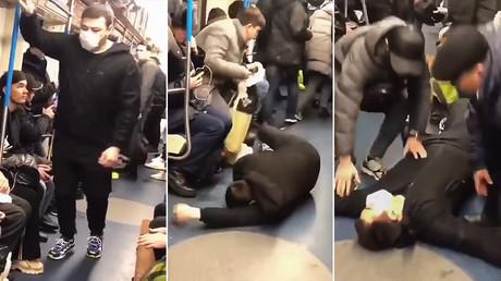 Prank gerät außer Kontrolle: Blogger nach Coronavirus-Panik in Moskauer U-Bahn verhaftet