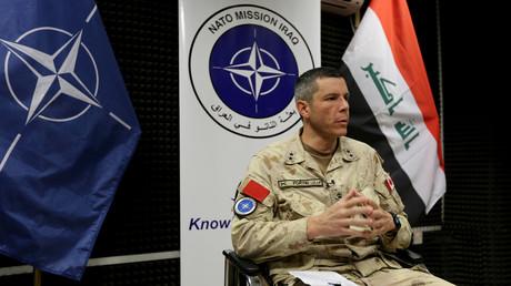 Der kanadische Generalmajor Dany Fortin war bis Ende November 2019 Leiter der NATO-Mission im Irak, über deren Zukunft heute in Brüssel entschieden wird.