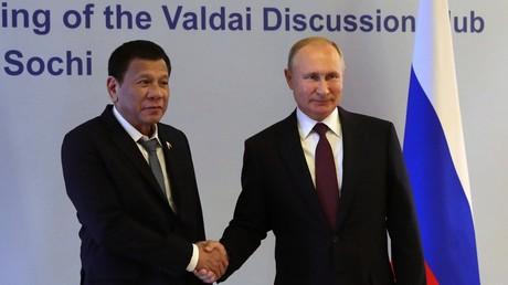 Der Albtraum für Washington wäre ein strategisches Abrücken der Philippinen in Richtung Russland und China. (Bild vom 03.10.19)
