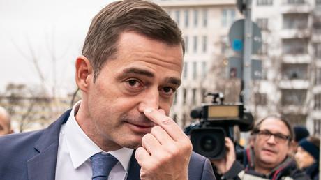 Mike Mohring, Landesvorsitzender der CDU Thüringen, kommt am 7.02.2020 zur Sitzung des CDU-Präsidiums im Konrad-Adenauer-Haus in Berlin. Er ist seit 2014 CDU-Landesparteichef.