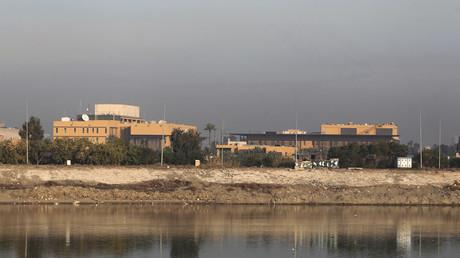 Raketenangriff auf Grüne Zone in Bagdad (Archivbild)